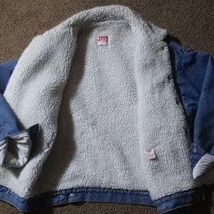 Levi's Jackets & Coats - Levi's Sherpa Lined Red Tab San Francisco Jacket